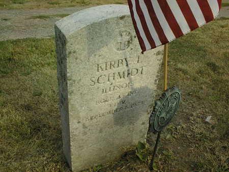 SCHMIDT, KIRBY L. - Muscatine County, Iowa   KIRBY L. SCHMIDT