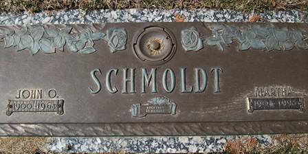 SCHMOLDT, MARTHA - Muscatine County, Iowa   MARTHA SCHMOLDT