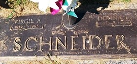 GRELL SCHNEIDER, DONNA LOU - Muscatine County, Iowa | DONNA LOU GRELL SCHNEIDER