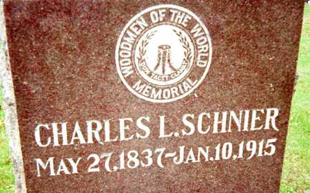 SCHNIER, CHARLES L. - Muscatine County, Iowa | CHARLES L. SCHNIER