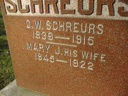 SCHREURS, MARY J. - Muscatine County, Iowa | MARY J. SCHREURS