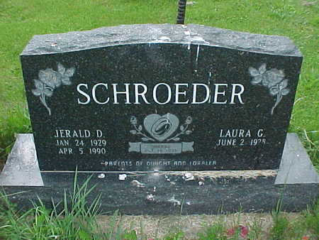 SCHROEDER, JERALD D. - Muscatine County, Iowa | JERALD D. SCHROEDER
