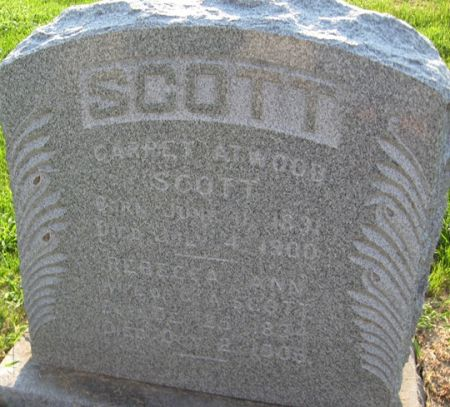 SCOTT, REBECCA ANN - Muscatine County, Iowa | REBECCA ANN SCOTT