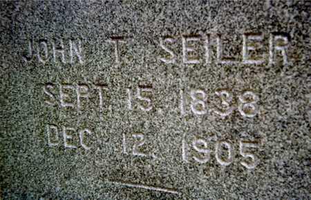 SEILER, JOHN T. - Muscatine County, Iowa | JOHN T. SEILER