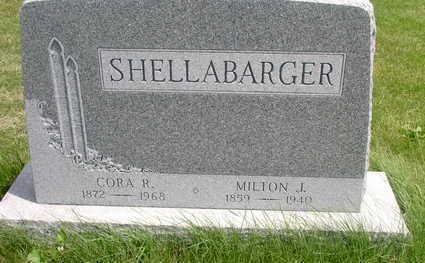 SHELLABARGER, MILTON J. - Muscatine County, Iowa | MILTON J. SHELLABARGER