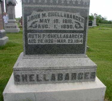 SHELLABARGER, RUTH P. - Muscatine County, Iowa | RUTH P. SHELLABARGER