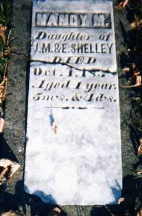 SHELLEY, NANCY - Muscatine County, Iowa   NANCY SHELLEY