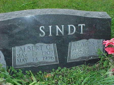 SINDT, ALBERT G. - Muscatine County, Iowa | ALBERT G. SINDT