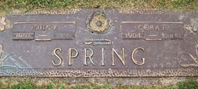 SPRING, JOHN FRANCIS