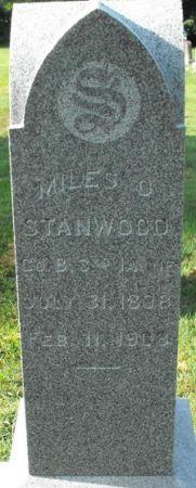 STANWOOD, MILES O. - Muscatine County, Iowa | MILES O. STANWOOD