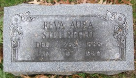 STELLRECHT, REVA AURA - Muscatine County, Iowa   REVA AURA STELLRECHT
