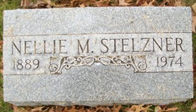 GRIFFITH STELZNER, NELLIE MAY - Muscatine County, Iowa | NELLIE MAY GRIFFITH STELZNER