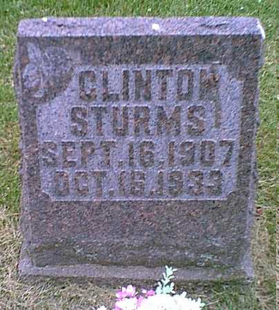 STURMS, CLINTON - Muscatine County, Iowa | CLINTON STURMS