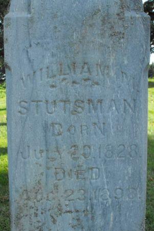 STUTSMAN, WILLIAM M. - Muscatine County, Iowa   WILLIAM M. STUTSMAN
