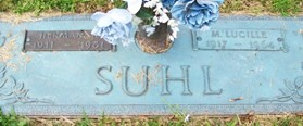 GREER SUHL, M. LUCILLE - Muscatine County, Iowa   M. LUCILLE GREER SUHL
