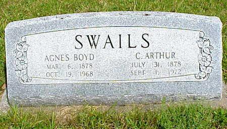 SWAILS, CHARLES ARTHUR - Muscatine County, Iowa | CHARLES ARTHUR SWAILS