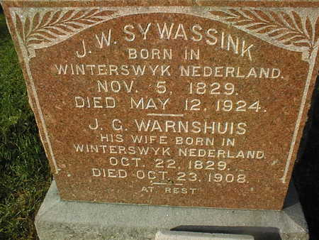 WARNSHUIS SYWASSINK, J.C. - Muscatine County, Iowa | J.C. WARNSHUIS SYWASSINK