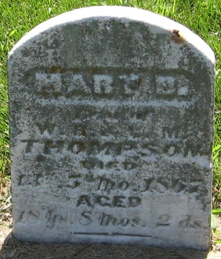 THOMPSON, MARY B. - Muscatine County, Iowa   MARY B. THOMPSON