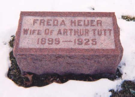HEUER TUTT, KATHERINE FREDA - Muscatine County, Iowa | KATHERINE FREDA HEUER TUTT