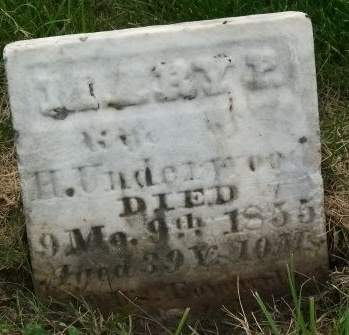 UNDERWOOD, MARY P. - Muscatine County, Iowa | MARY P. UNDERWOOD
