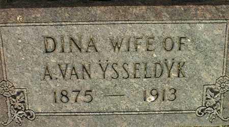 VAN YSSELDYK, DINA - Muscatine County, Iowa | DINA VAN YSSELDYK
