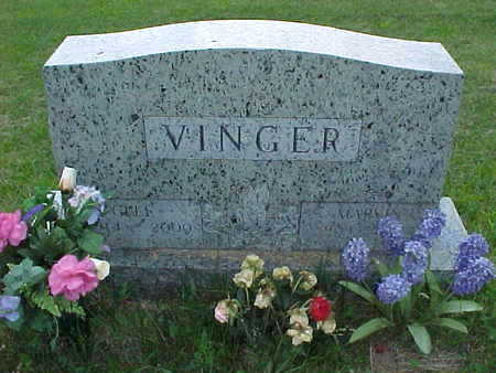 VINGER, CLEE - Muscatine County, Iowa | CLEE VINGER