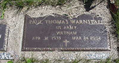 WARNSTAFF, PAUL THOMAS - Muscatine County, Iowa | PAUL THOMAS WARNSTAFF