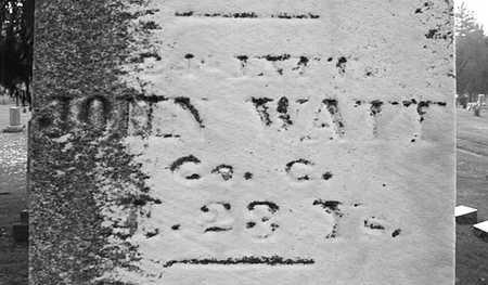 WATT, JOHN - Muscatine County, Iowa | JOHN WATT