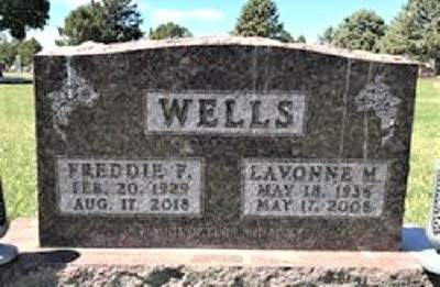 WELLS, FREDRICK FRANKLIN