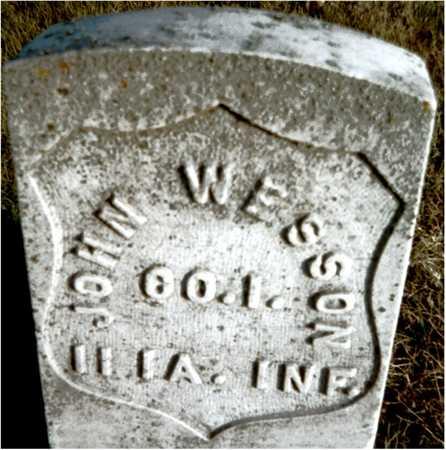 WESSON, JOHN - Muscatine County, Iowa | JOHN WESSON