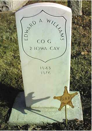 WILLIAMS, EDWARD A. - Muscatine County, Iowa | EDWARD A. WILLIAMS