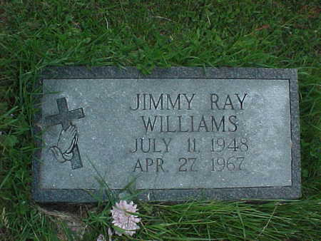 WILLIAMS, JIMMY RAY - Muscatine County, Iowa | JIMMY RAY WILLIAMS