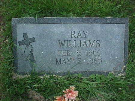 WILLIAMS, RAY - Muscatine County, Iowa   RAY WILLIAMS