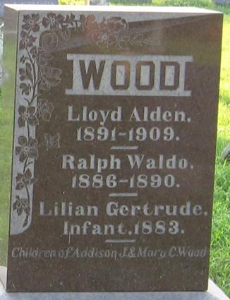 WOOD, LLOYD ALDEN - Muscatine County, Iowa | LLOYD ALDEN WOOD