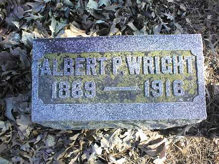 WRIGHT, ALBERT P. - Muscatine County, Iowa | ALBERT P. WRIGHT