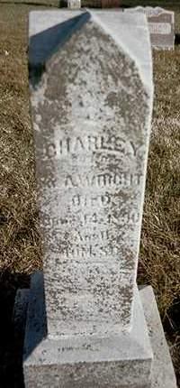 WRIGHT, CHARLEY - Muscatine County, Iowa | CHARLEY WRIGHT