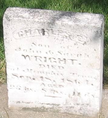 WRIGHT, CHARLES E. - Muscatine County, Iowa | CHARLES E. WRIGHT