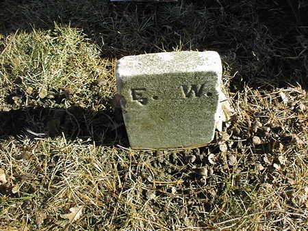 WRIGHT, E.W. - Muscatine County, Iowa | E.W. WRIGHT