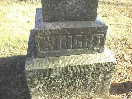 WRIGHT, FAMILY - Muscatine County, Iowa | FAMILY WRIGHT