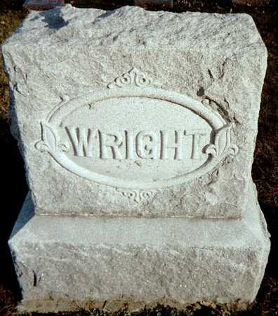 WRIGHT, FAMILY MONUMENT - Muscatine County, Iowa | FAMILY MONUMENT WRIGHT