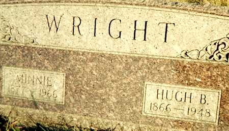 WRIGHT, MINNIE - Muscatine County, Iowa | MINNIE WRIGHT