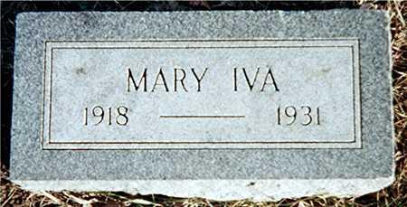 WRIGHT, MARY IVA - Muscatine County, Iowa   MARY IVA WRIGHT