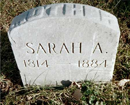 WRIGHT, SARAH A. - Muscatine County, Iowa | SARAH A. WRIGHT