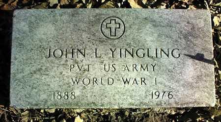 YINGLING, PVT. JOHN L. - Muscatine County, Iowa | PVT. JOHN L. YINGLING