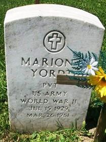 YORDT, MARION L. - Muscatine County, Iowa | MARION L. YORDT