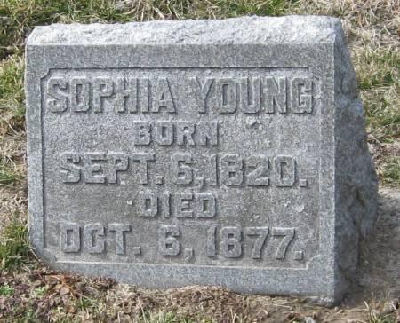 YOUNG, SOPHIA - Muscatine County, Iowa   SOPHIA YOUNG