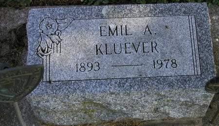 KLUEVER, EMIL AUGUST - Muscatine County, Iowa | EMIL AUGUST KLUEVER