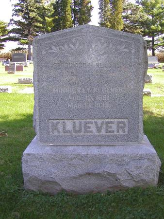 FEY KLUEVER, MINNIE - Muscatine County, Iowa | MINNIE FEY KLUEVER