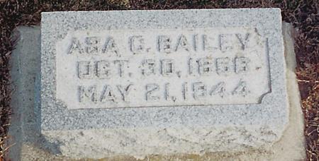 BAILEY, ASA C - O'Brien County, Iowa | ASA C BAILEY