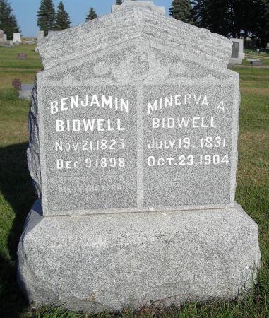 BIDWELL, BENJAMIN - O'Brien County, Iowa   BENJAMIN BIDWELL